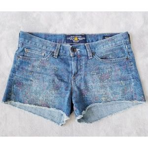 *SALE* Lucky Brand Floral Riley Shorts